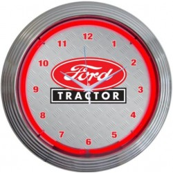 Ford Tractor Neon Clock
